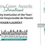 IIUM awarded 2020 Sustainability Institution of the Year Award