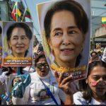 It's karma for Suu Kyi